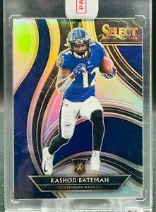 2020 Select Football Rashod Bateman XRC Redemption Baltimore Ravens #415
