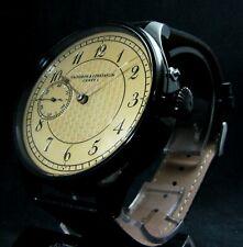 luxury Mens Gift Deco Watch Antique 1904 Chronometer Large Steel Case