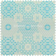 Telas y tejidos color principal azul tapicería 140 cm para costura y mercería