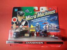 MICRO MACHINES MICROMACHINES CARABINIERI SUV VEDETTA BERLINA CELLULARE APPUNTATO