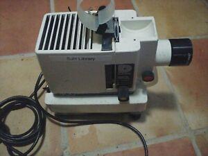 Vintage Dukane 500 Film Strip Presentation Projector, Power on,no bulb for parts