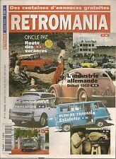 RETROMANIA 117 CITROEN AMBULANCES FLAMINIO BERTONI RENAULT ESTAFETTE L'AGE D'OR