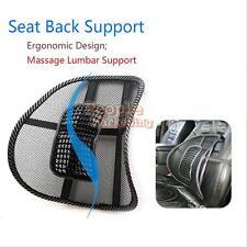 Car Office Seat Chair Massage Back Lumbar Support Mesh Ventilate Cushion Pad #p