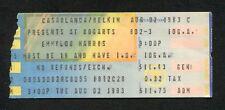 1983 Emmylou Harris Concert Ticket Stub Bogarts Cincinnati OH