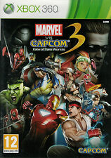 Marvel vs Capcom 3 Fate of Two Worlds,  Xbox 360 game complete, Used