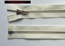 Opti Zipper Fasten Metal divisible 77 cm ecrue