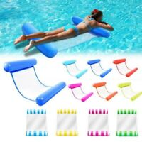 Inflatable Floating Lounge Bed Float Beach Swimming Pool Raft Water Hammock Swim