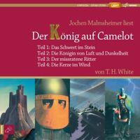 JOCHEN MALMSHEIMER-DER KÖNIG AUF CAMELOT TEIL 1-4/4XMP3 CD  4 CD NEU WHITE,T.H.