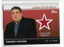 Vincent Pastore 2011 Topps american pie relic, celebrity worn