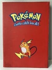 More details for pokemon raichu card folder