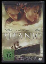 DVD TITANIC - 2 DISC SET - LEONARDO DiCAPRIO + KATE WINSLET - James Cameron *NEU