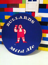 Set 4 Vintage Retro Bullards Mild Ale Drinks Mat Coaster 70's 80's MIni Bar