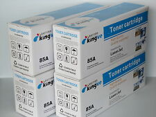 4PK Compatible Toners for HP 85A CE285A fits HP Laserjet P1102 M1212NF M1213NF