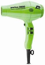 Parlux 3800 Ceramic Ionic Eco Friendly Hairdryer GREEN