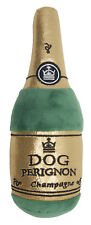 DOG PERIGNON SOFT TOY CHAMPAGNE BOTTLE PLUSH CHRISTMAS TOY WITH SQUEAK