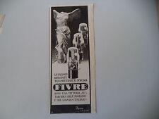 advertising Pubblicità 1941 VALVOLE FIVRE