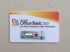 MS Office 2007 Basic MLK Vollversion deutsch V2 inkl. Word,Excel Outlook 2007