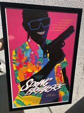 Cameron Stewart Spring Breakers Movie Poster Art Print Mondo A24 FRAMED