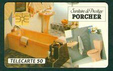 TELECARTE PRIVÉ D548 PORCHER SANITAIRE et PRESTIGE  NEUVE SANS BLISTER