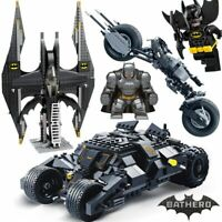 DC Batman Figures Batpod Batmobile Set Avengers Building Blocks Kids Toys Bricks