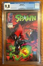 Spawn 1 CGC 9.8 White Pages - Image Comics 5/92 - Todd McFarlane - 1992 Issue #1