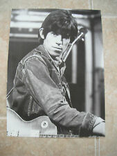 Rolling Stones Keith Richards Vtg Candid Coffee Table Book Photo #15
