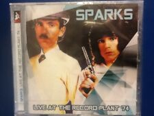 SPARKS.        SPARKS. LIVE. AT. THE. RECORD. PLANT.  1974.       ROXVOX. LABEL
