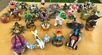 Skylanders SuperChargers Almost Complete Set Lot of Base Vehicles and Figures