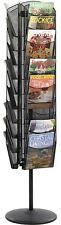 Rotating Magazine Stand Home Decor Organizer Holder Freestanding Office Study