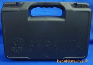 New Beretta Standard Pistol Gun Case Box Fits 92, 96, PX4 As Well As All Models