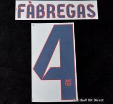 Barcelona el 4 Camiseta De Fútbol Nombre/Número Conjunto de Distancia Reproductor de tamaño 2012-2014