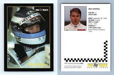 Mika Hakkinen #26 Formula 1 Pro Trac's 1991 Premier Racing Card