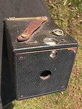 Ansco Box Camera 1894 patent 101 film 9x9cm sized prints wood build working 9+