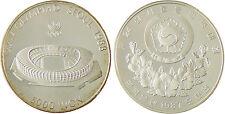 COREE   SEOUL   STADE  5000  WON  ARGENT  1987  CAPSULE  FLEUR  DE  COIN