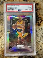 2019-20 Panini Prizm Silver Kobe Bryant #8 Los Angeles Lakers PSA 9 MINT