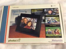 "Matsunichi 7"" Digital Photo Frame New in Box"