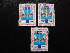 VATICAN - timbre yvert et tellier n° 953 x3 obl (A28) stamp