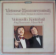 Telefunken 6.42051 Rossini,Couperin,Mozart:Duos for Cello & Bass/Baumann/Stoll