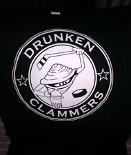 "DRUNKEN CLAM BAR Florida T SHIRT ""DRUNKEN CLAMMERS HOCKEY ""MENS Large L LG"
