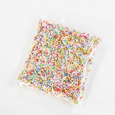 Colorful 2.5-3.5mm Foam Balls Beads Styrofoam Filler Manual Diy Craft Kids Toy