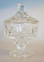 Glasschale mit Deckel H 13 cm Vorratsglas Dekoglas Glasgefäß Bonboniere Glasdeko