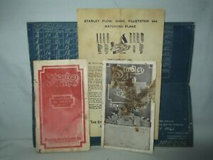 Stanley 45 Plane Tools Rules Levels~1909 Pocket Catalog~Sweet Heart Box Foldout