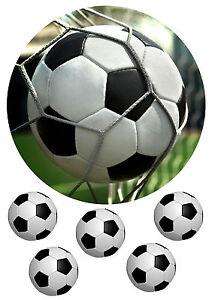 """""""Fußball """"3 Tortenaufleger,Geburtstag,Tortendeko"""