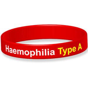 Haemophillia Type A Medical Alert Wristband