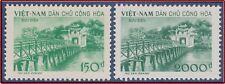 VIETNAM du NORD N°156/157(**) Emis Neuf sans Gomme, 1958 North Vietnam NGAI MNH