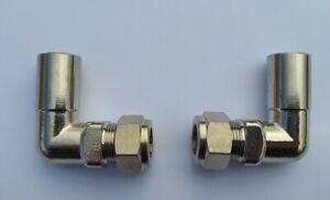 15mm to 8 and 10mm 90 Degree Valve Pipe Reducers. Plastic & Copper Pipe