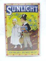 Blechschild Sunlicht Seife Metall Schild 30 cm,Nostalgie Metal Shield,Neu