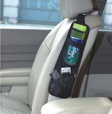 Seat Back Side Storage Net Resilient String Bag GPS Cups Holder For Toyota Rav4