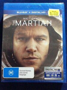 The Martian - Region B Blu Ray - NEW & SEALED - Matt Damon - FREE POST