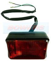 CLASSIC MINI RECTANGULAR RED REAR FOG LAMP LIGHT LEP ENGLAND XFE10006
